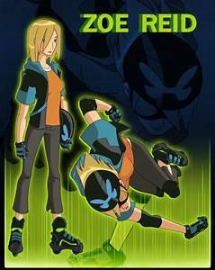 Ben 10 Alien Force Zoe Reid by vickie-believe on DeviantArt