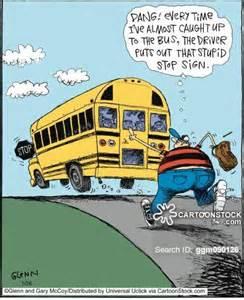 Funny Cartoon School Bus Quotes