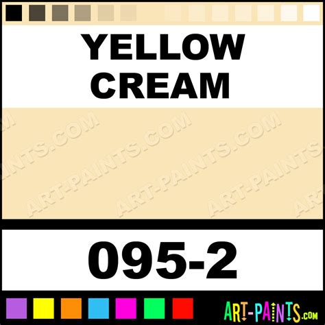 creamy yellow paint colors
