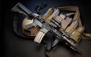Assault rifle Rifles M4 weapon gun military police f ...
