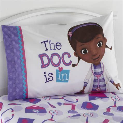 doc mcstuffins pillow disney doc mcstuffins s pillowcase
