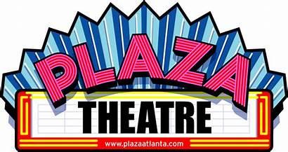 Theatre Plaza Clipart Clip Cinema Atlanta Cliparts