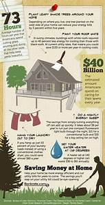 Saving Money At Home Infographic