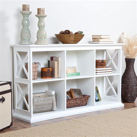 Bookcase Console by Belham Living Hton Console Table Stackable Bookcase