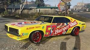 Burger Shot Stallion GTA 5 Side | GTA 5 Cars