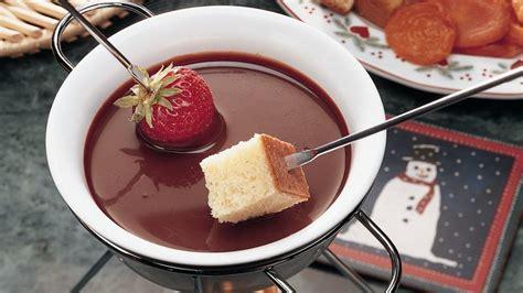 milk chocolate fondue recipe bettycrocker com