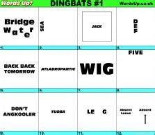 dingbats  akennedy  images dingbats fun quiz