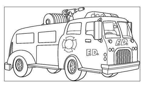 disegni da colorare camion dei pompieri incendio camion da colorare camion dei pompieri stabili