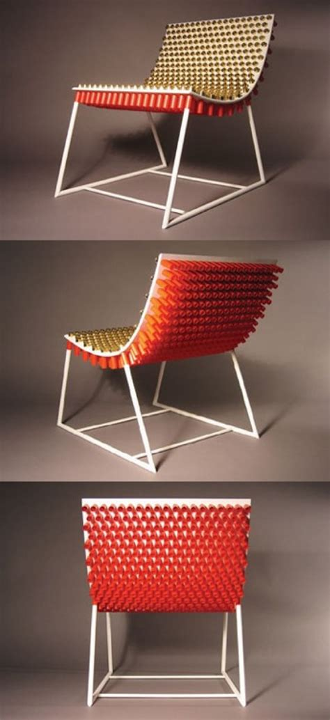 shotgun shell chair  diy projects  tos