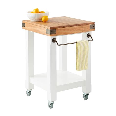 rolling islands for kitchen butcher block rolling kitchen island cart the container