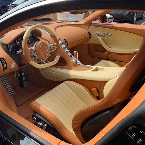 The replacement for the veyron 16.4 is next up with a probable debut next year. Interior of the Bugatti Chiron painted in Bentley Candy ...