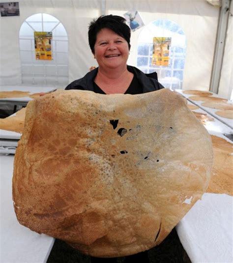 cuisine astuce photo la plus grande crêpe du monde