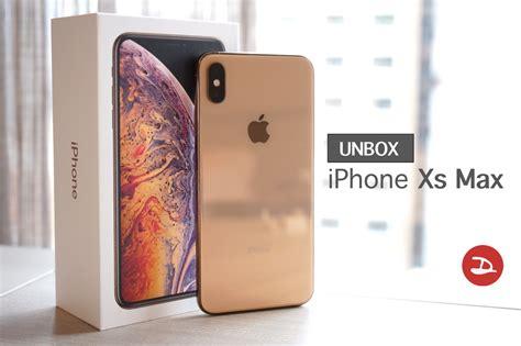 unbox iphone xs max fast mm droidsans