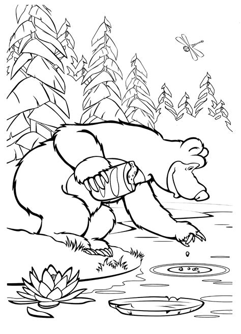 river coloring pages    print