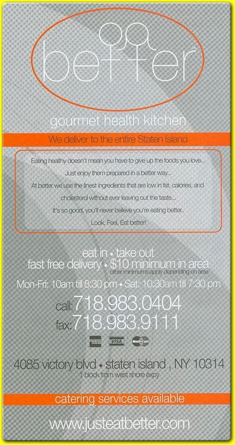 better gourmet health kitchen better gourmet health kitchen delivery take out dine in