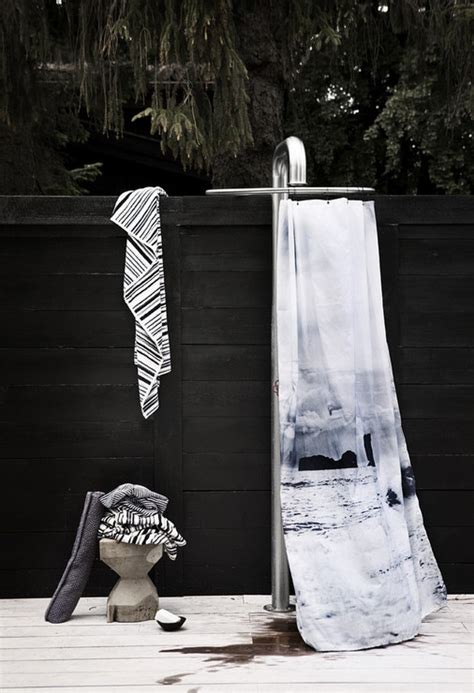 outdoor shower curtain ideas interesting ideas for home