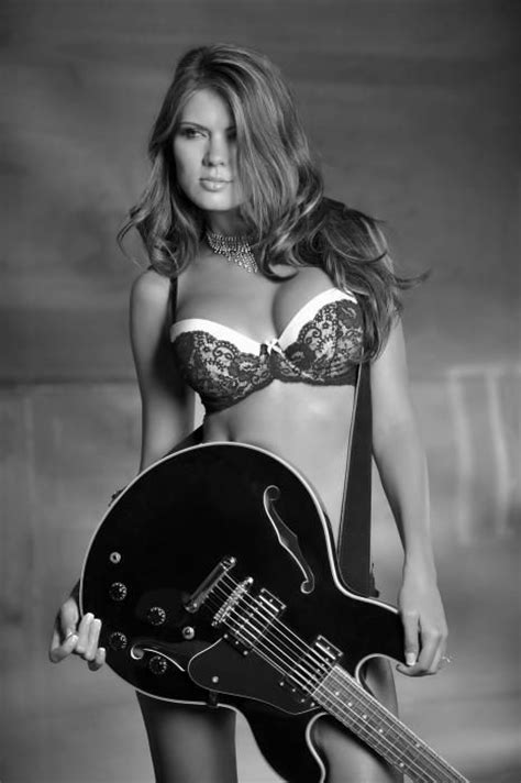 hot chicks  guitars nudity  images