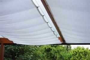 Terrassenüberdachung Aus Stoff : sonnenschutz f r die terrassen berdachung ~ Markanthonyermac.com Haus und Dekorationen