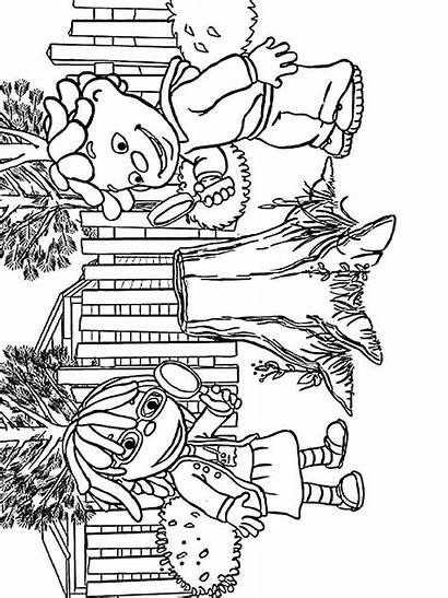Coloring Science Kid Sid Pages Printable Cartoon