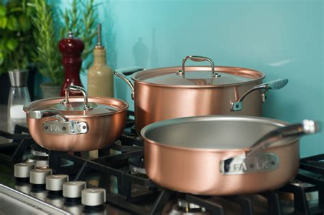 falk usa launches  website  introduces    copper cookware