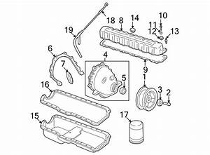 Jeep Wrangler Engine Crankshaft Seal  Liter  Cylinder