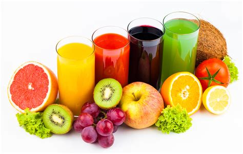 fruit drinks drinks juice fruit orange fruit kiwi apples grapes highball glass wallpaper 5501x3495 348967
