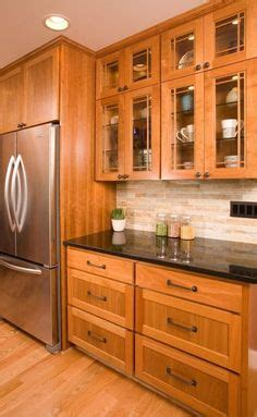 rustic kitchen flooring hickory cabinets design ideas granite countertop 2055