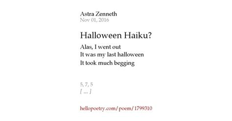 Poems About Halloween halloween haiku by astra zenneth hello poetry