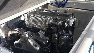 Marine Twin Supercharger System For A Boat Engines At