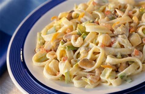recette tagliatelles aux fruits de mer faciles
