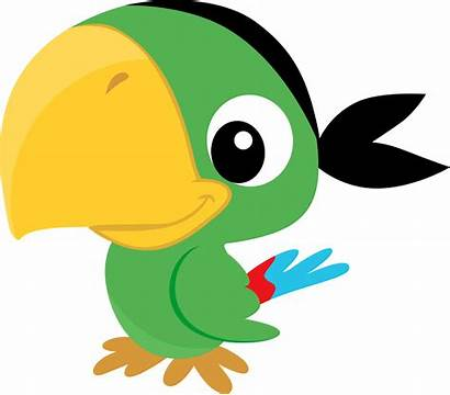 Parrot Jake Clipart Pirates Neverland Pirate Clip