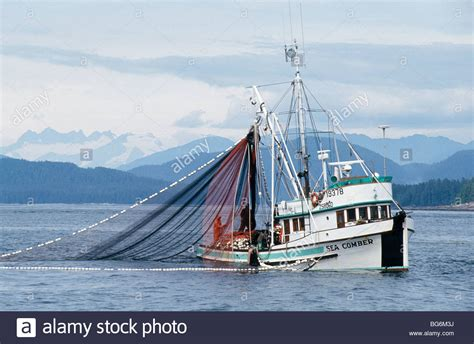 Commercial Fishing Boat Images by Alaska Southeast Commercial Salmon Seiner Fishing Boat