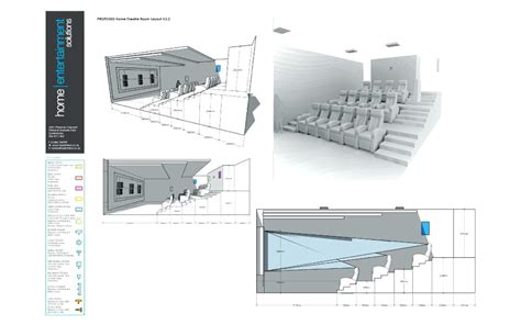 Home Theater Floor Plan by Home Elements And Style Theatre Plans Bar Floor Powder