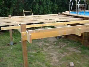 Support Terrasse Bois : quelle structure support pour terrasse en bois surelev e ~ Premium-room.com Idées de Décoration
