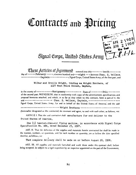 Signal Corps Specification No. 486