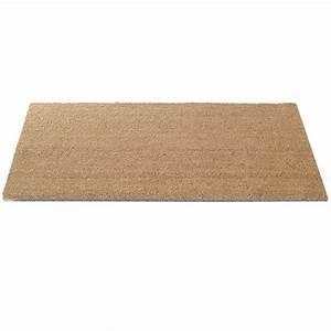 tapis brosse pur coco naturel decoupe personnalisee l With tapis brosse à la découpe