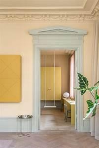 couleur vert amande appartement deco With chambre bébé design avec parfum fleur de tilleul