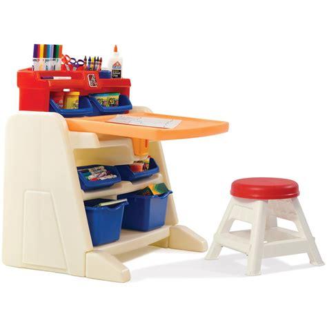 flip and doodle easel desk step 2 flip doodle easel desk with stool 190679 toys