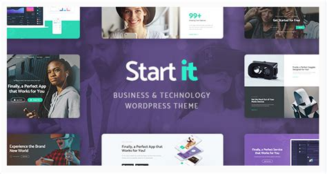 start it wp template best technology premium themes 2017
