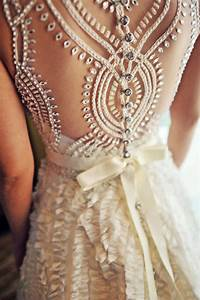 beaded back a line wedding dress sang maestro With wedding gowns with beautiful backs