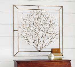 coralina metal wall art pottery barn