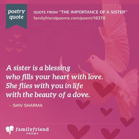 I Love My Sister Poems