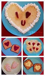 Valentine Pancakes & other Breakfast Ideas - Kitchen Fun ...