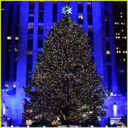 christmas in rockefeller center tree lighting 2016