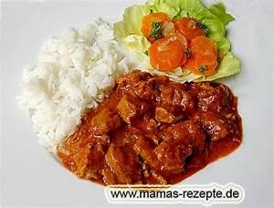 Mamas Rezepte : schweine paprikaragout mamas rezepte mit bild und kalorienangaben ~ Pilothousefishingboats.com Haus und Dekorationen