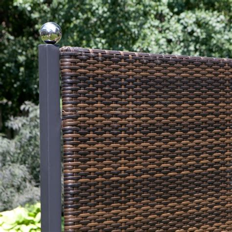 terrassen sichtschutz kunststoff geflecht terrassen sichtschutz tolle ideen f 252 r diese praktische deko