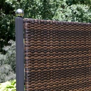terrassen sichtschutz tolle ideen f r diese praktische deko With terrassen sichtschutz kunststoff geflecht