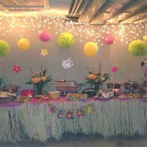 how to plan luau theme parties christmas lights etc blog