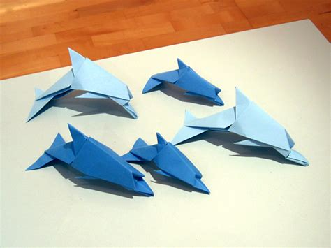 origami galerie dolphins dave brill happy folding