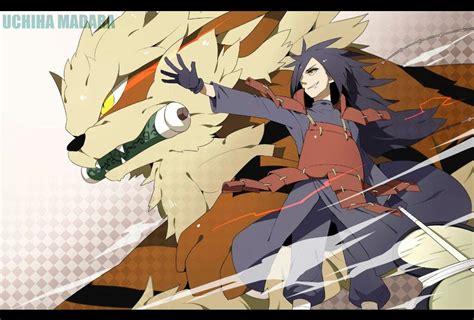 Se O Madara De Naruto Fosse Treinador Pokemon